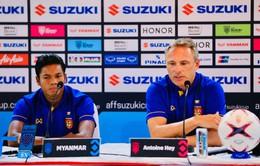 AFF Cup 2018: HLV ĐT Myanmar háo hức chờ trận đấu gặp ĐT Việt Nam