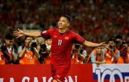 AFF Cup 2018: Anh Đức có mặt trong danh sách cầu thủ xuất sắc nhất lượt trận thứ 3