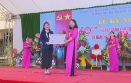 Quỹ Tấm lòng Việt trao tặng trường tiểu học Hồ Tùng Mậu 100 triệu đồng