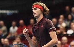 Các tay vợt hạt giống dễ dàng vượt qua vòng 3 Paris Masters