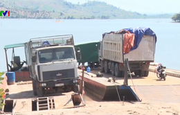 Phát hiện vụ vận chuyển gỗ lậu trên lòng hồ thủy điện