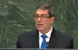 LHQ thông qua nghị quyết kêu gọi Mỹ bỏ cấm vận Cuba