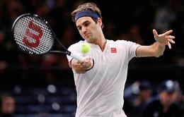 Vượt qua Fognini, Federer tiến vào tứ kết Paris Masters