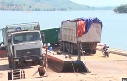 Kon Tum: Phát hiện vụ vận chuyển gỗ lậu trên lòng hồ thủy điện Se San 4