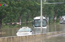 Cảnh báo sạt lở đường Nha Trang - sân bay Cam Ranh