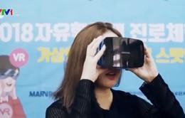 Áp dụng công nghệ thực tế ảo vào bài giảng tại Hàn Quốc