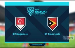 VIDEO tổng hợp trận đấu ĐT Singapore 6-1 ĐT Timor Leste (Bảng B AFF Cup 2018)