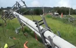 Phú Yên: Gần 5000 hộ dân bị ảnh hưởng lốc xoáy đã có điện trở lại