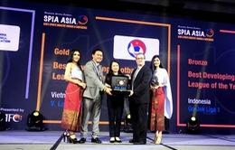 V.League 1 đoạt giải Vàng hạng mục Giải đấu Phát triển tốt nhất châu Á 2018