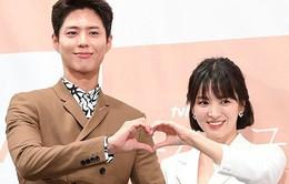 Song Hye Kyo khoe nhan sắc đỉnh cao bên mỹ nam Park Bo Gum