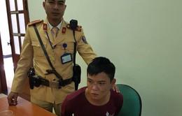 CSGT Hà Nội bắt đối tượng cướp giật nguy hiểm nhiễm HIV