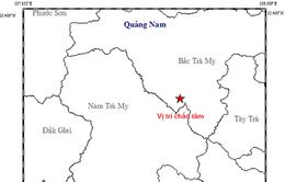 Quảng Nam: Thủy điện Sông Tranh 2 lại xảy ra động đất