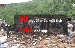 Khánh Hòa thống kê thiệt hại sau mưa lũ: 19 người chết, 1 người mất tích, gần 30 người bị thương