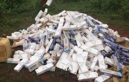 Bắt giữ 15.000 gói thuốc lá ngoại nhập lậu