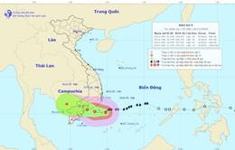 Bão số 9 có xu hướng dịch xuống phía Nam, dự báo đi vào Bình Thuận đến Bến Tre.