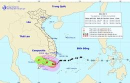 4h sáng mai, tâm bão số 9 ở bờ biển Nam Bình Thuận - Bến Tre