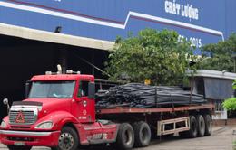 Phạt tiền và đình chỉ hoạt động 6 tháng 2 nhà máy thép tại Đà Nẵng