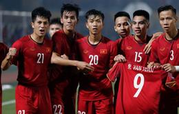 Vừa vui, vừa... lo: ĐT Việt Nam ăn mừng bàn thắng bằng áo đấu của Văn Toàn