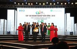 Vinh danh doanh nghiệp phát triển bền vững 2018