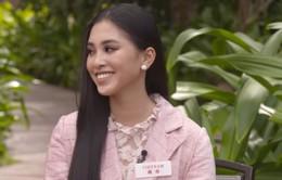 Hoa hậu Tiểu Vy tự tin trong phần thi  Head to Head Challenge tại Miss World