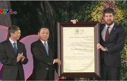 Non nước Cao Bằng chính thức trở thành Công viên địa chất toàn cầu