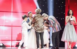 Giọng hát Việt nhí: Vũ Cát Tường rơi lệ khi bé 7 tuổi lọt top nguy hiểm