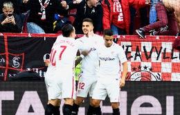 Kết quả bóng đá châu Âu rạng sáng ngày 26/11: Sevilla giành ngôi đầu La Liga