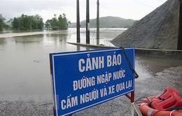 Mưa lớn gây ngập nặng tại Phú Yên
