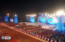 Chùm ảnh: Lễ khai mạc Đại hội Thể thao toàn quốc lần thứ VIII năm 2018 đầy màu sắc