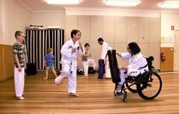 Lớp học võ Taekwondo dành cho trẻ khuyết tật
