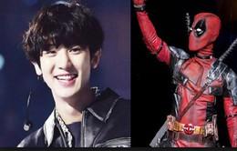 Lỡ dịp Halloween, Chanyeol (EXO) hóa trang thành Deadpool trong ngày sinh nhật