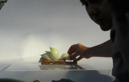 Độc đáo mô hình công trình kiến trúc làm từ thực phẩm