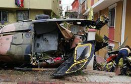 Rơi trực thăng quân sự tại Thổ Nhĩ Kỳ, ít nhất 5 binh sĩ thiệt mạng