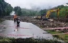 Khánh Hòa khẩn trương khắc phục sạt lở do mưa lũ