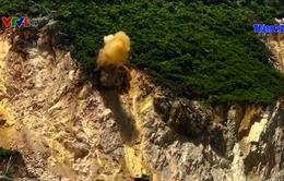 Siết chặt điều kiện an toàn tại các mỏ đá