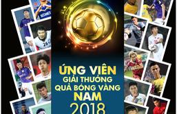 Đội hình dự AFF Cup 2018 áp đảo danh sách đề cử QBV Việt Nam