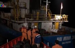 Cứu nạn thành công 8 thuyền viên gặp nạn trên biển