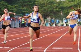 Lê Tú Chinh phá kỷ lục cự ly 100m tại Đại hội thể thao toàn quốc 2018