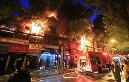 Khởi tố chủ nhà trọ vụ cháy ở Đê La Thành khiến 2 người tử vong