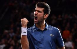 Novak Djokovic vô địch tiền thưởng trong năm 2018