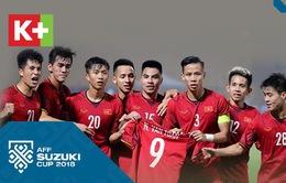 K+ bình luận trực tiếp các trận đấu tại AFF Suzuki Cup 2018 từ vòng bán kết