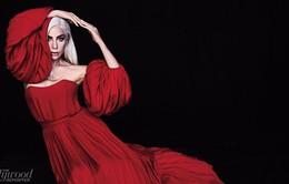 Lady Gaga cực quyến rũ với sắc đỏ