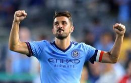 David Villa chính thức chia tay New York City