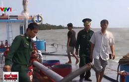 Buôn lậu xăng dầu trên biển tăng nhiệt