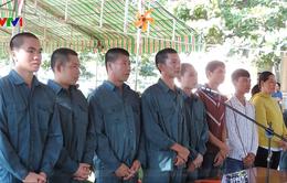 Xét xử 9 đối tượng tham gia gây rối trật tự công cộng ở tỉnh Bình Thuận