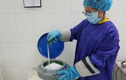 Phát triển kỹ thuật bảo quản tinh trùng