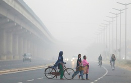 Báo động ô nhiễm không khí ở New Delhi, Ấn Độ