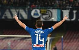 VIDEO: Mertens rực sáng, Napoli đại thắng Empoli (Vòng 11 Serie A)
