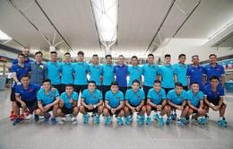 ĐT Futsal Việt Nam lên đường tham dự Giải vô địch Futsal Đông Nam Á 2018