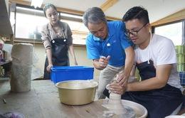 Sắc màu Nhật Bản - Trải nghiệm du lịch xanh: Trải nghiệm làm gốm tại tỉnh Nagasaki